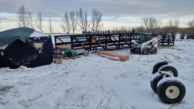 Nanton Bridge #11 Installation